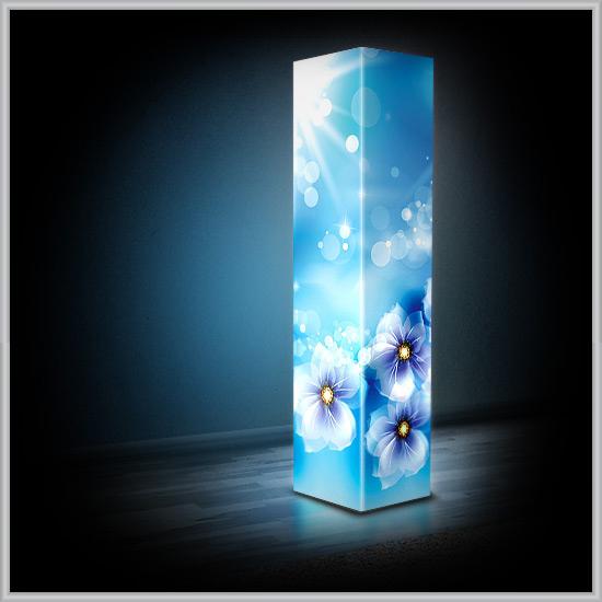 Декоративный светильник из пластика