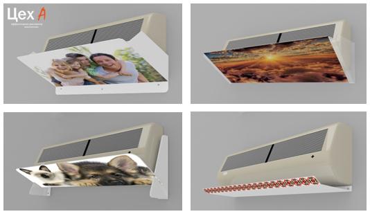 Захисні екрани для кондиціонерів із акрилу