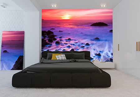 Фотообои для спальной