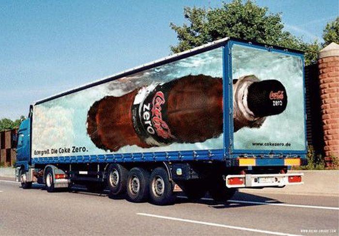 Дизайн реклами на транспорті