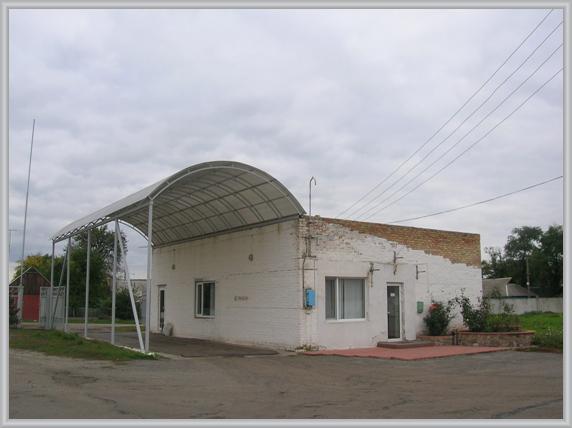 Здание до облицовки АКП