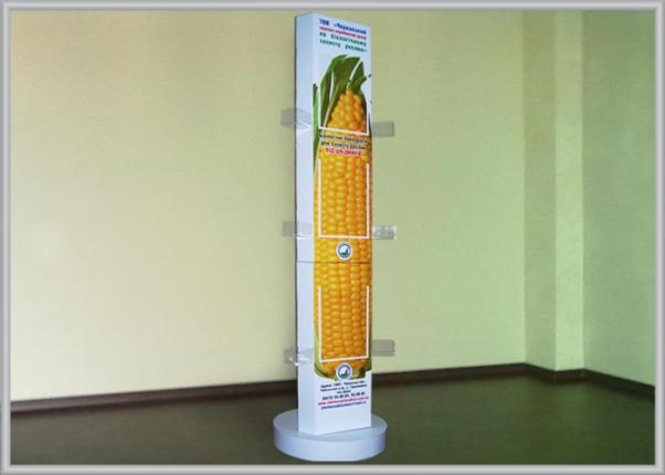 Рекламная, презентационная стойка
