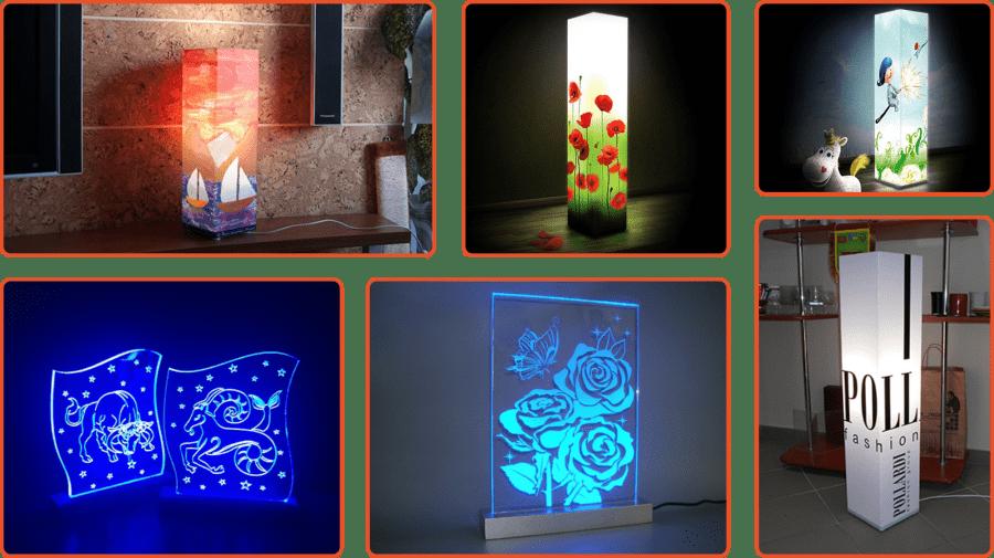 Дизайнерські інтер'єрні світильники