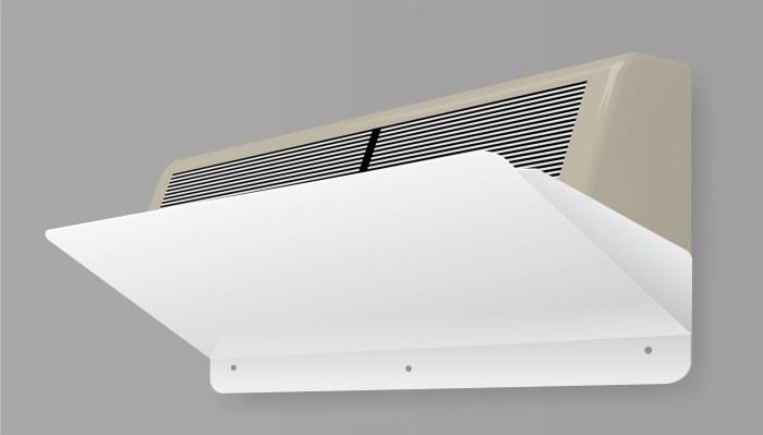 Дефлектор-захисний екран для кондиціонера ZET 002