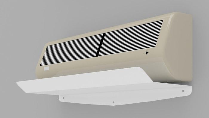 Захисний екран для кондиціонера ZET 001