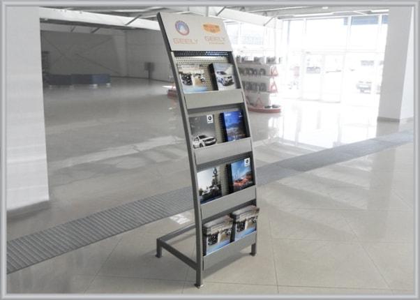 Торговая презентационная стойка, выставочный стенд