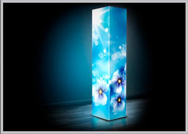 Интерьерный, дизайнерский светильник из акрила