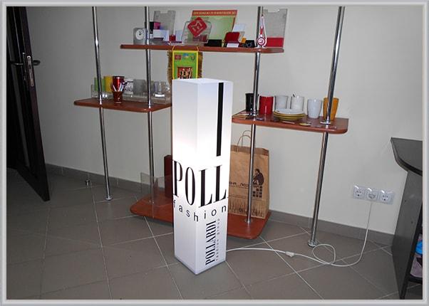 Дизайнерский светильник для салона, магазина