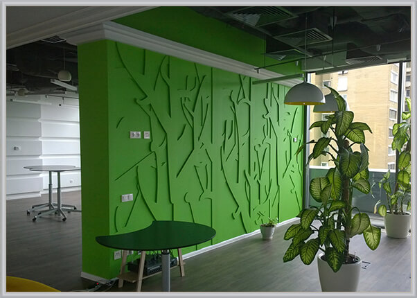 Оформлення дизайну офісу, кабінету