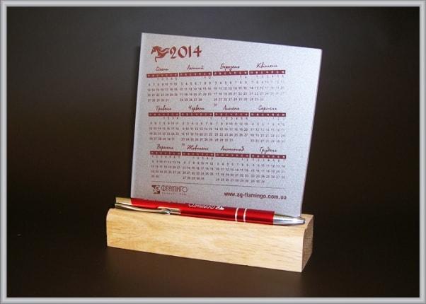 Пластиковий календар. Календар з акрилу