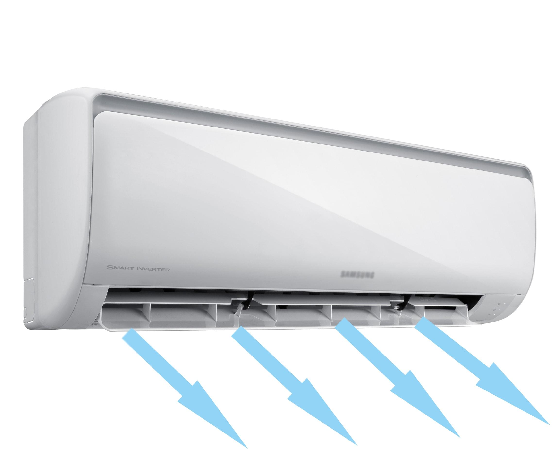 Поток воздуха с кондиционера