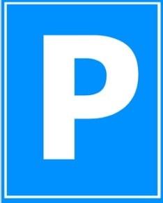 Паркувальна табличка, вказывник парковки