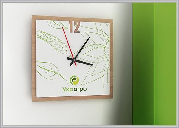 Подарунковий годинник з логотипом