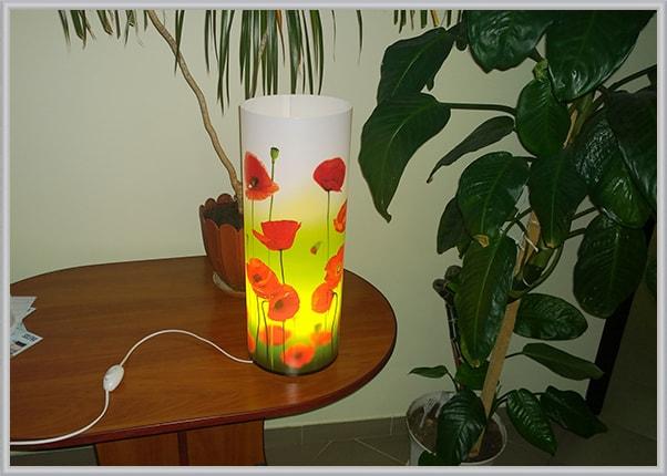 Пластиковый светильник ночник