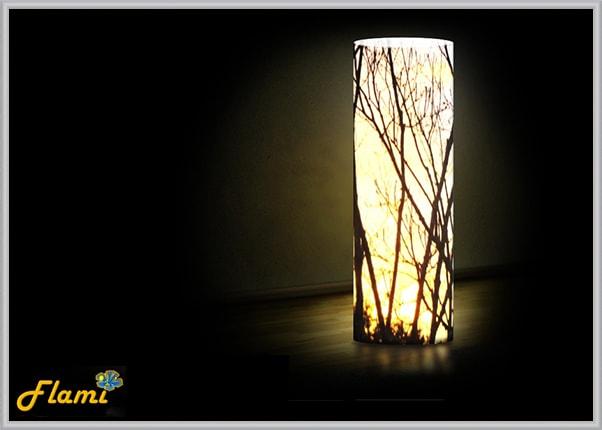 Акриловый дизайнерский светильник Лес