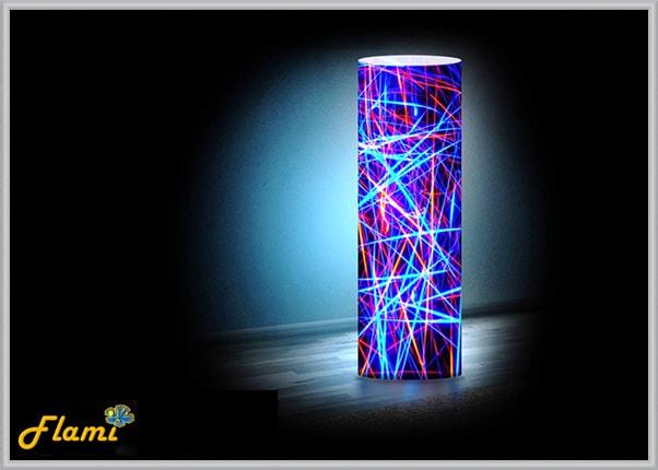 Настольный светильник из пластика Лучи света