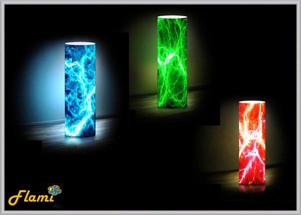 Светильник с функцией смены цвета подсветки