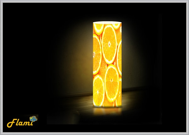 Настольный дизайнерский светильник Апельсины