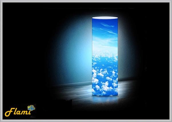 Декоративный светильник из акрила Небо