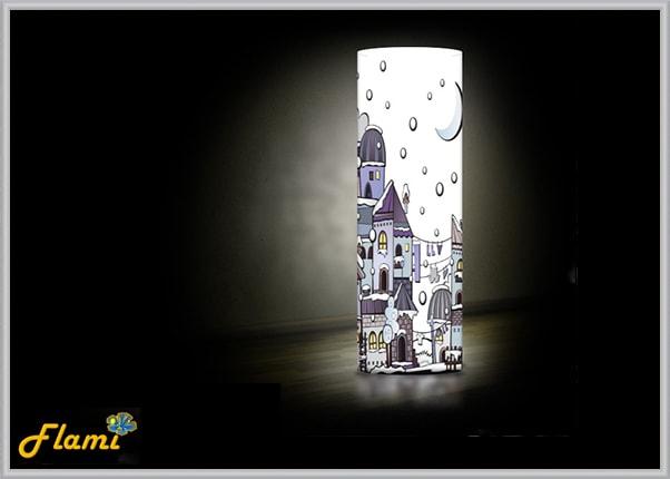 Светильник для детей город