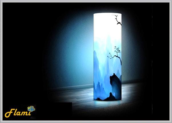 Интерьерный светильник из пластика Горы