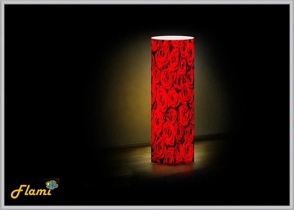 Настольный акриловый светильник Лепестки роз