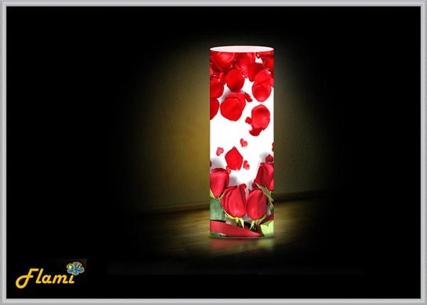 Настольный декоративный светильник Розы