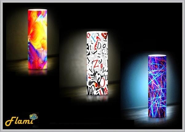 Дизайнерские светильники - тематика Абстракции