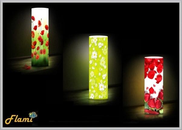 Дизайнерские светильники Flami тематика Цветы