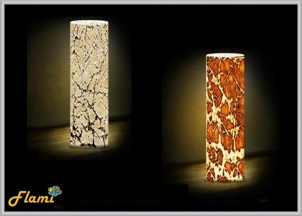 Дизайнерские светильники - тематика Фактура
