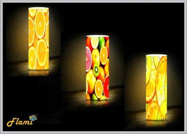 Дизайнерские светильники тематика Фрукты