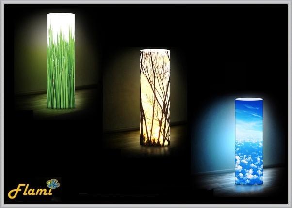 Дизайнерские светильники тематика природа