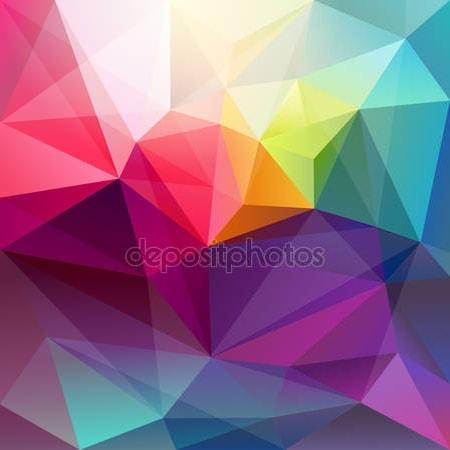 Принт для дизайнерского светильника - Абстракция цветов