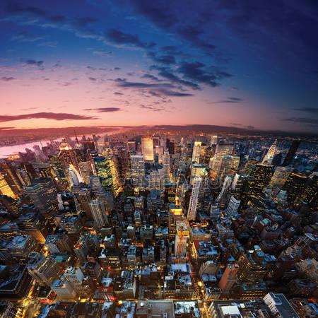 Принт для дизайнерського світильника - Нью Йорк