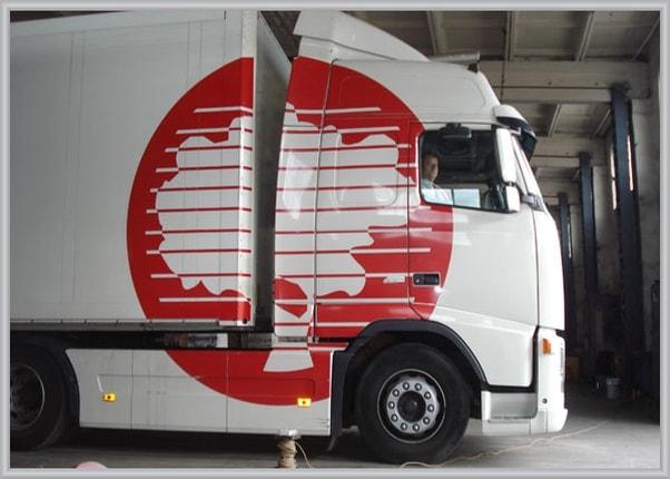 Брендировние корпоративного транспорта