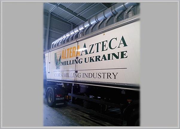 Брендирование оформление грузового транспорта