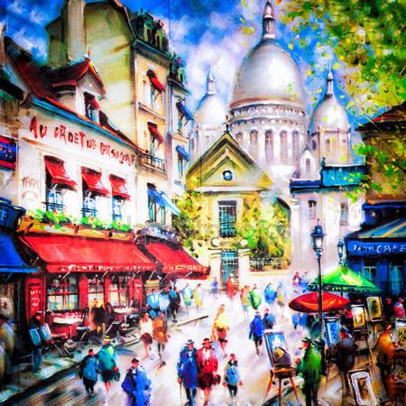 Город краски