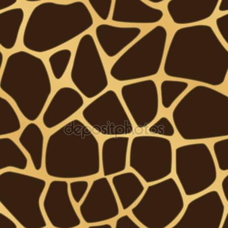 Принт для дизайнерского светильника - Жираф