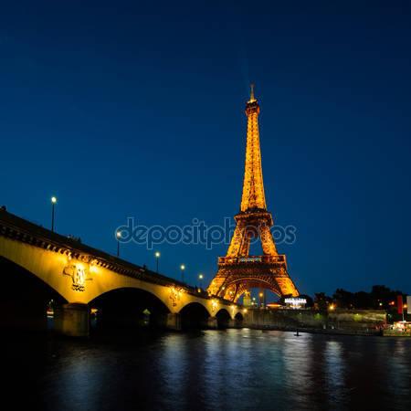 Принт для дизайнерського світильника - Париж