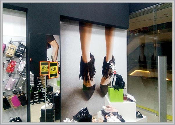 Планшет для магазина обуви
