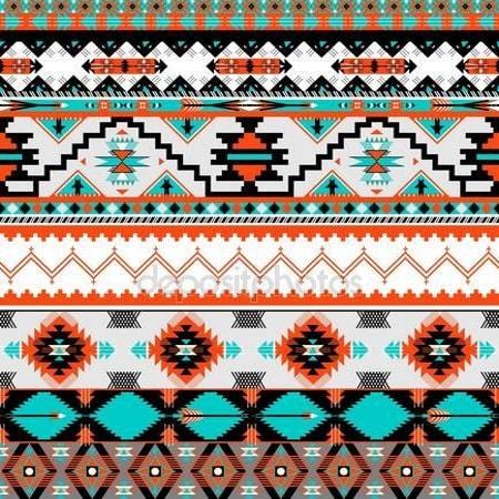 Принт для дизайнерського світильника - Візерунок Навахо