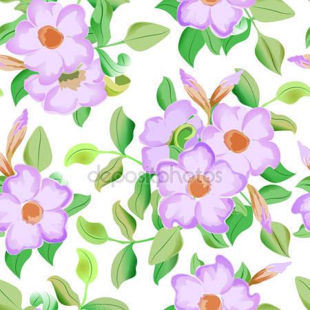 Принт для дизайнерского светильника - Розовые цветы
