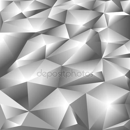 Принт для дизайнерского светильника - Серебро