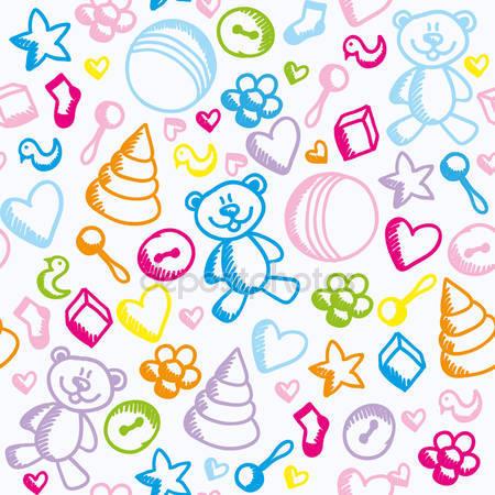 Принт для дизайнерского детского светильника - Детские игрушки