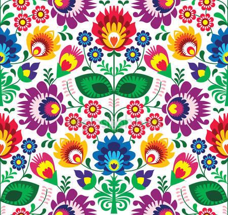 Фолк цветы
