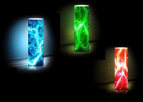 Інтер'єрний світильник в стилі еклектики