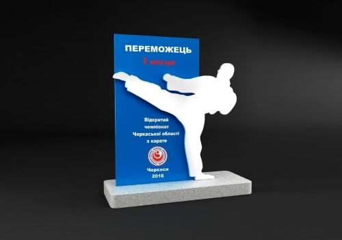 Кубки, статуетки для переможців спортивних змагань