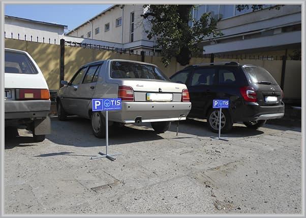 Парковочные таблички на металлической ножке