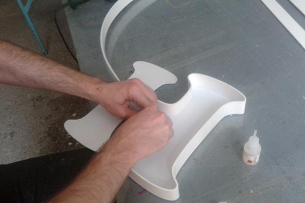 Изготовление объемных букв, символов своими руками
