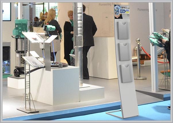 Рекламная, выставочная стойка для IT-компании